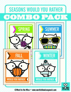 Seasons Would You Rather Combo Pack