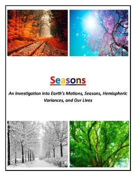 Seasons and Our Lives (Modified and COLOR Coded)