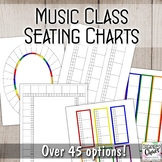 Seating Chart Set- Music
