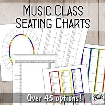 Seating Chart Set- Music