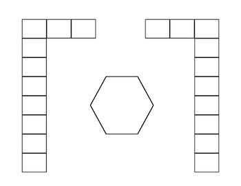 Seating Template horseshoe - customizable