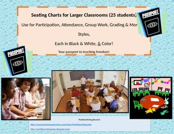 23 Seating and Organization Charts for the Larger Class -