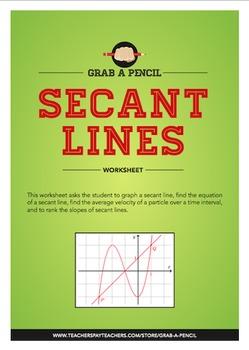 Secant Lines