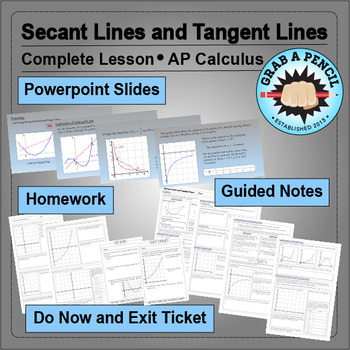 AP Calculus: Secant Lines and Tangent Lines
