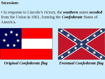 Secession and the Election of 1860 PowerPoint Presentation
