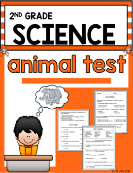 Second Grade Animal Test