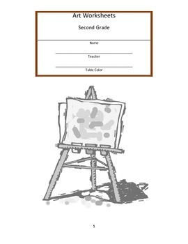 Second Grade Art Workbook