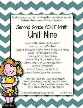 Second Grade CORE Math Unit 9