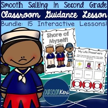 School Counseling - Classroom Guidance Lessons Bundle - Se