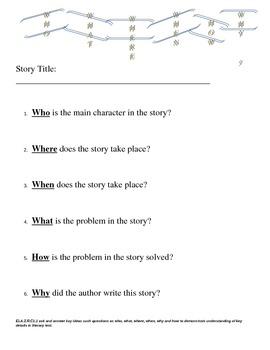 Second Grade Common Core Language Arts Assessments