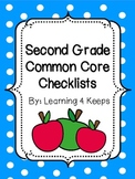Second Grade Common Core Checklists