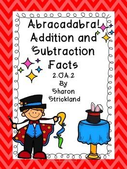 Second Grade Common Core Math-2.OA.2-Addition and Subtract