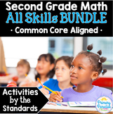 Second Grade Common Core Math: Activities by the Standards BUNDLE