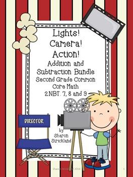 Second Grade Common Core Math Bundle- NBT 7,8,9 Addition a