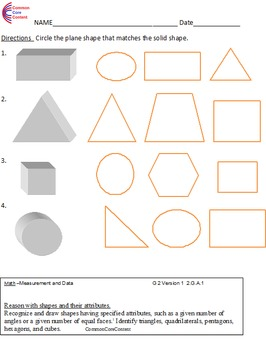 Second Grade Common Core Math Worksheets... by Nick Knacks for the ...