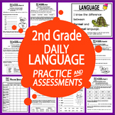 2nd Grade Language Practice and Assessments