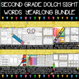 Dolch Second Grade Sight Words Year-Long Activity Pack
