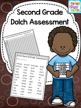 Second Grade Dolch Word Assessment