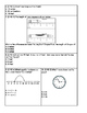 Second Grade End-of-Year Review Math Test