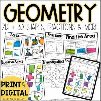 Second Grade Geometry Unit