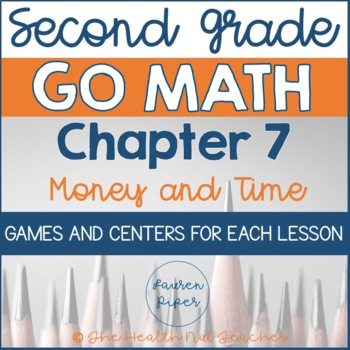 Second Grade Go Math Centers and Games: Chapter 7