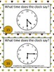 2nd Grade Go Math!  Florida Time and Money Game Packet (Ch