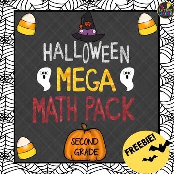 Second Grade Halloween Math FREEBIE!