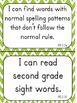 """Second Grade """"I Can"""" Statements for ELA EDITABLE!"""