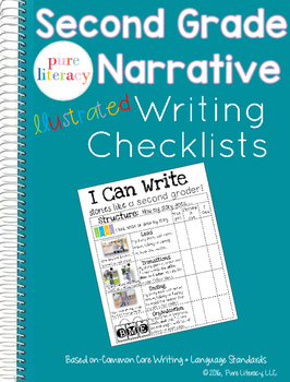Second Grade Illustrated Narrative Writing Checklist