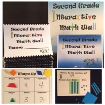 Second Grade Interactive Math Wall