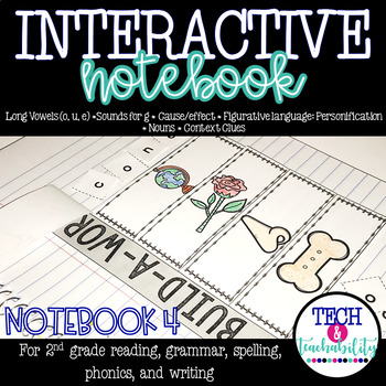 Second Grade Interactive Notebook Week 4: Cause and Effect