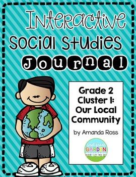 Second Grade Interactive Social Studies Journal - Cluster