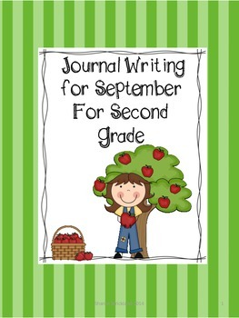 Second Grade Journal Writing for Sepetmber