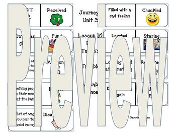 Second Grade Journeys Vocabulary Dominoes/ Domino Workshop
