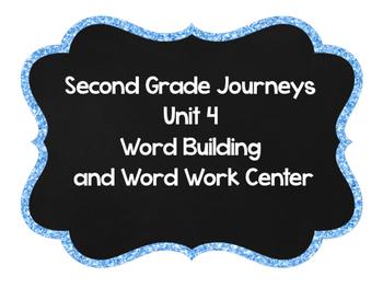 Second Grade Journeys Word Building Unit 4