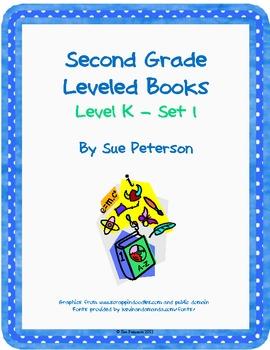 Second Grade Leveled Books: Level K - Set 1