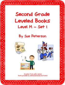 Second Grade Leveled Books: Level M - Set 1