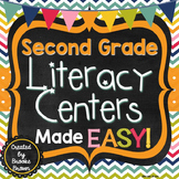 Second Grade Literacy Centers Made EASY!