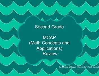 Second Grade - MCAP - RTI - Task Cards