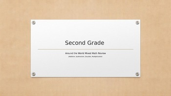 Second Grade Mixed Math Review