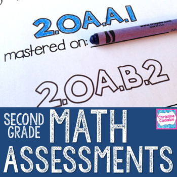 Second Grade Math Assessments - Common Core Math Assessments