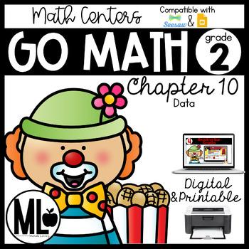 Second Grade Math Centers, Data, Chapter 10