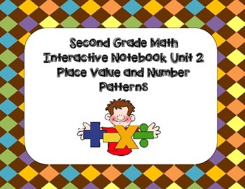 Second Grade Math Interactive Notebook Unit 2 Place Value/