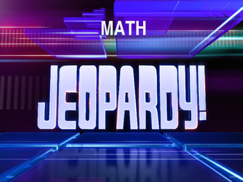 Second Grade Math Jeopardy Review Game