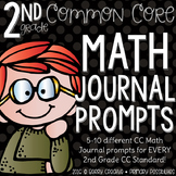 Second Grade Math Journal Prompts