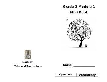 Second Grade Math Module 1 Mini Book for Centers