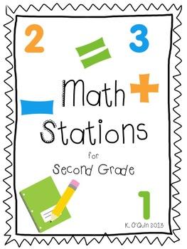 Second Grade Math Stations