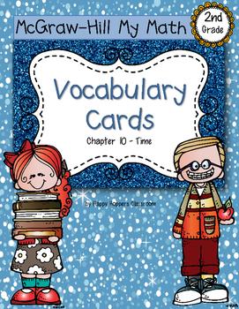 Second-Grade Math Vocabulary {My Math Series - Unit 10}{CC