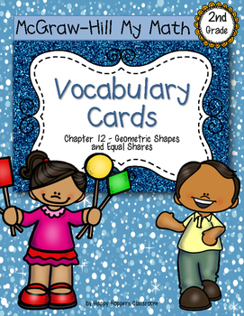 Second-Grade Math Vocabulary {My Math Series - Unit 12}{CC