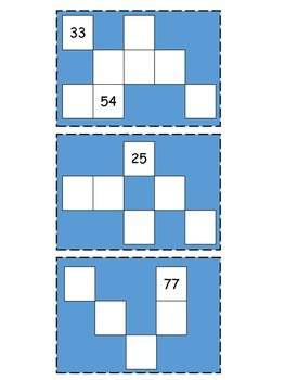 Second Grade Math Workshop:  Hundred Chart Brain Teasers/Puzzles